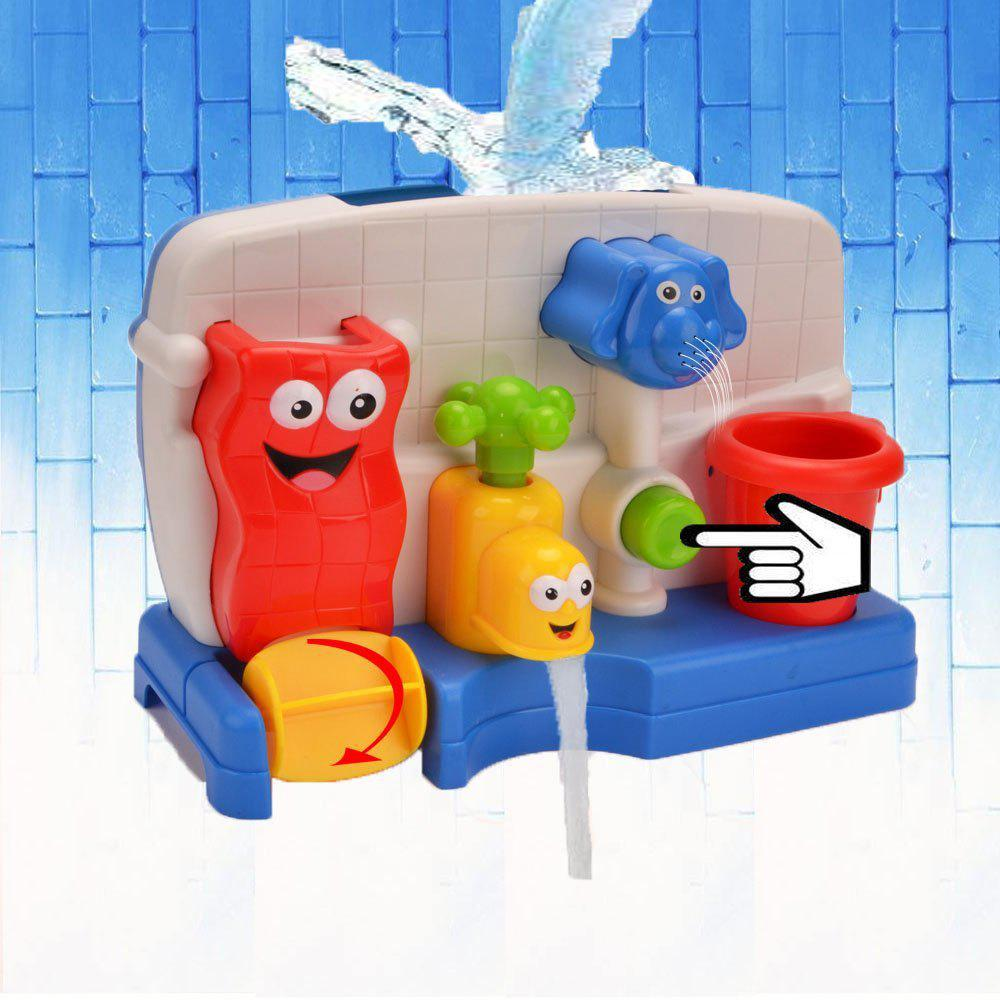 Kids Colorful Cartoon Bathtub Toy   COLOUR