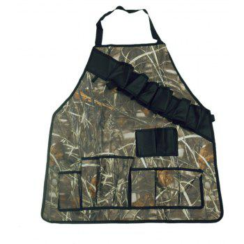 Durable Goods Professional Grade Cotton Kitchen Grill and BBQ Apron Camouflage Color - REED CAMOUFLAGE