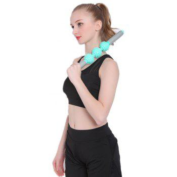 Restore Pressure Point Muscle Roller Massage Stick Promote Circulation for Rapid Healing - GREEN