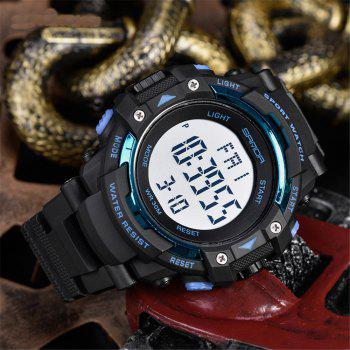 Sanda 348 1294 Outdoor Fashion Trend Date Calendar Shows Multi-Purpose Waterproof Electronic Watch - BLUE