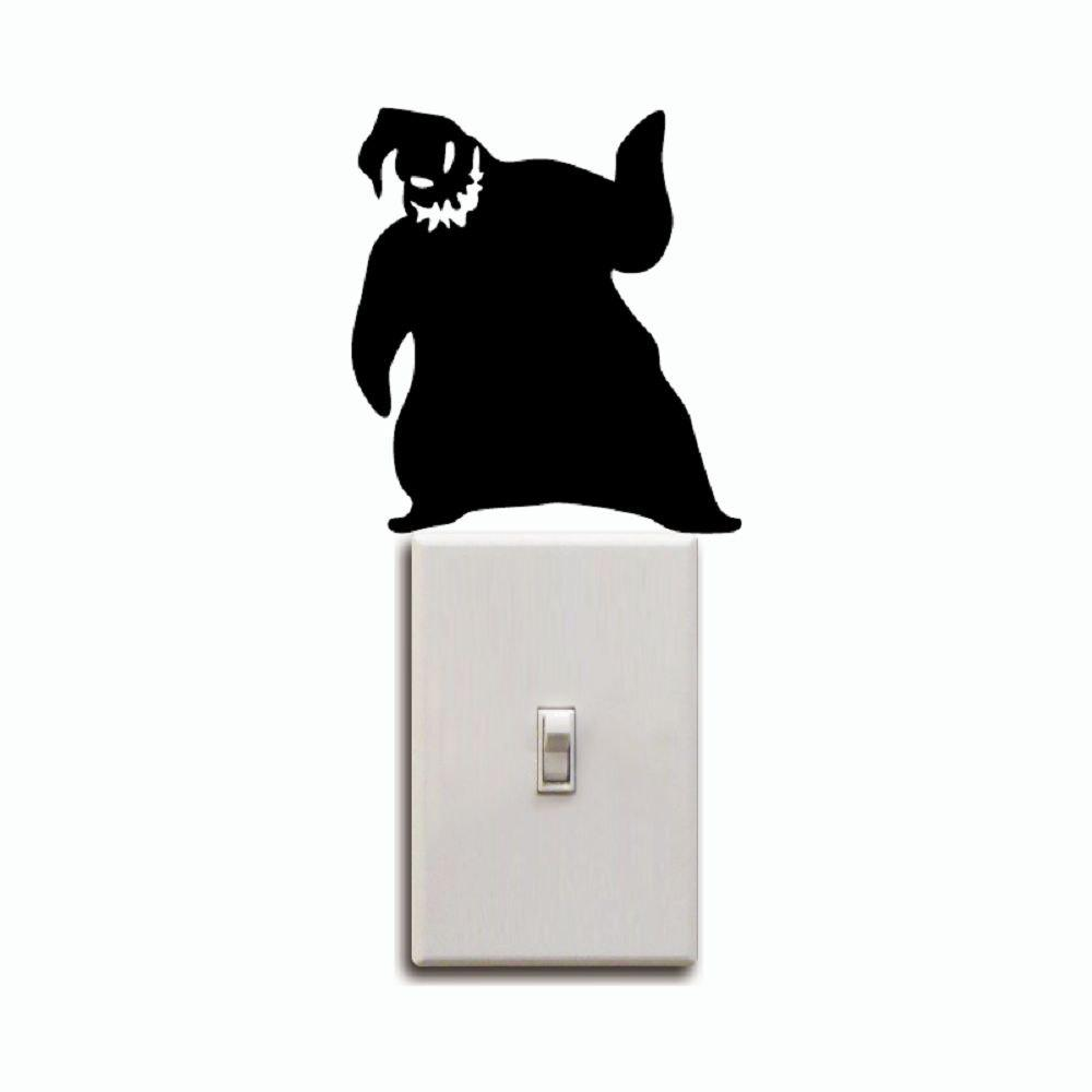 KG-251 Oogie Boogie Switch Sticker Nightmare Before Christmas Wall Sticker 255502501