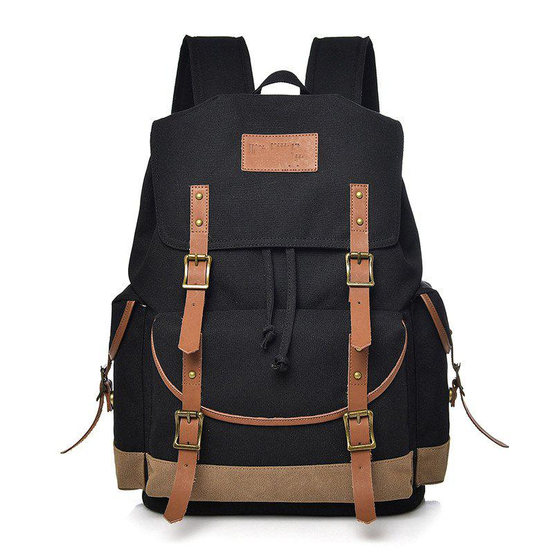 2018 Trendy Casual Backpack Travel Bag BLACK In Backpacks Online ...