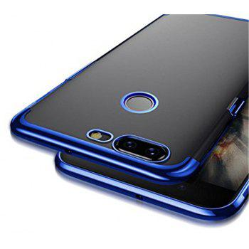 Cover Case for One Plus 5T Metal Electroplating Technology TPU Soft Silicone - BLUE