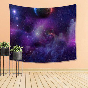 Space Travel Tapestry Wall Hanging  Decoration Sofa Bed Blanket Bedspread Tablecloth - COLORMIX W39.4INCH*L59.1INCH