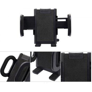 Car Use Phone Holder Air Outlet Phone Holder Suction Cup Holder - BLACK