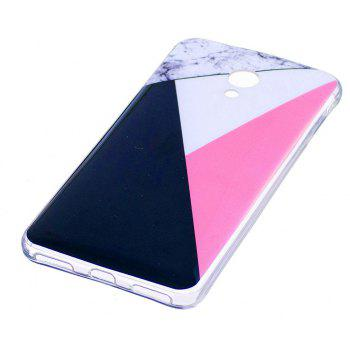 Marbling Phone Case For Meizu M5s / Meilan M5s Case Trend Fashion Soft Silicone TPU Cover Cases Protection Phone Bag - BLACK A