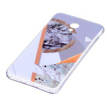 Marbling Phone Case For Meizu M5s / Meilan M5s Case Trend Fashion Soft Silicone TPU Cover Cases Protection Phone Bag - CHROME