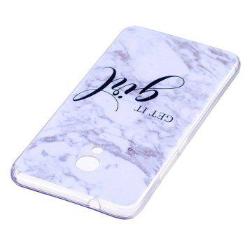 Marbling Phone Case For Meizu M5s / Meilan M5s Case Trend Fashion Soft Silicone TPU Cover Cases Protection Phone Bag - WHITEA