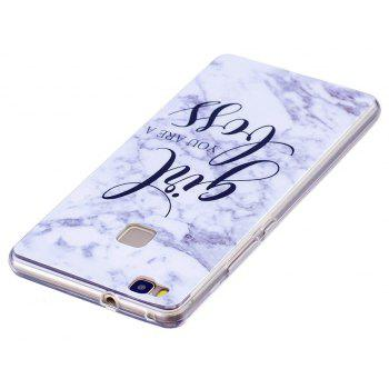 Marbling Phone Case For Huawei P9 Lite Case Trend Fashion Soft Silicone TPU Cover Cases Protection Phone - OYSTER