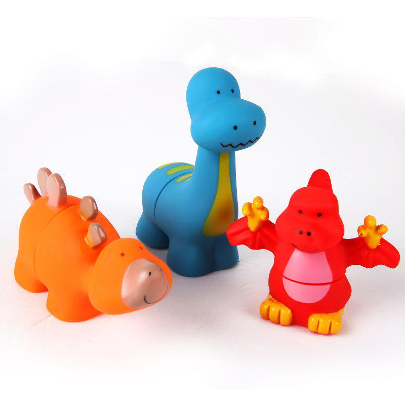 Soft Blocks Dinosaur Toy 3PCS - COLORMIX