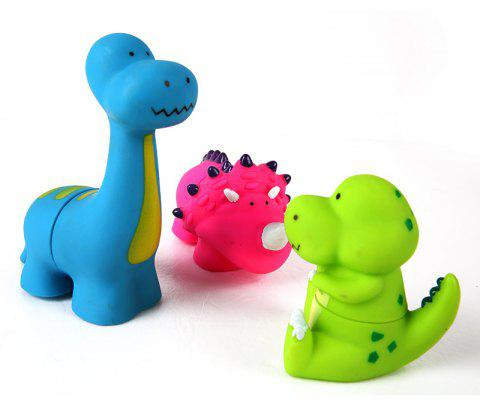 Dinosaur Shaped Soft Building Toy - COLORMIX