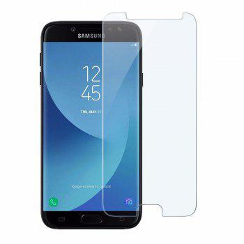 2PCS Screen Protector for Samsung Galaxy J530 High Sensitivit HD Full Coverage High Clear Premium Tempered Glass - TRANSPARENT