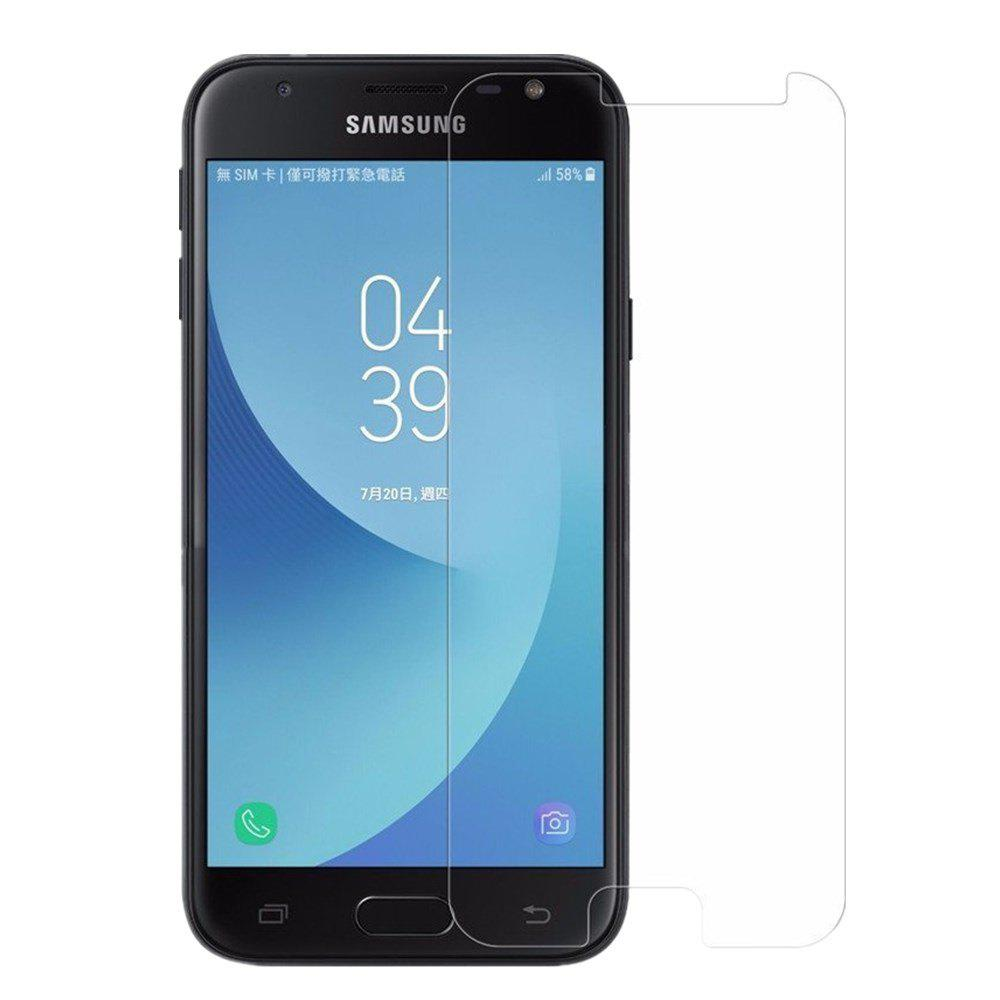 Screen Protector for Samsung Galaxy J530 High Sensitivit HD Full Coverage High Clear Premium Tempered Glass - TRANSPARENT