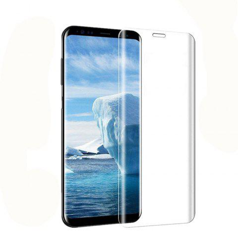 Screen Protector for Samsung Galaxy S9 High Sensitivit HD Full Coverage High Clear Premium Tempered Glass - TRANSPARENT