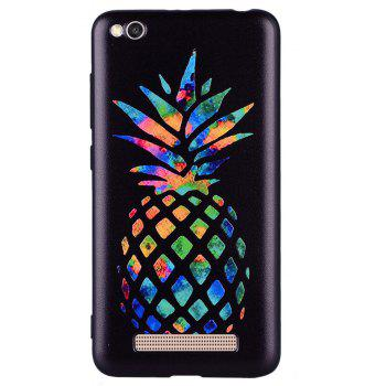 Case For Xiaom Redmi 4A Color Pineapple Pattern TPU Case - COLOUR