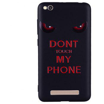 Case For Xiaom Redmi 4A  Red Eye Pattern TPU Case - RED