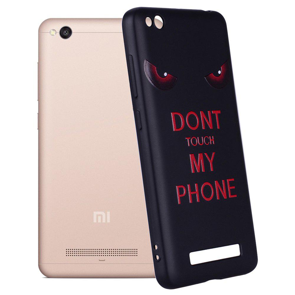 Cas pour Xiaomi Redmi 4A Red Eye Motif TPU Case - Rouge