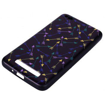 Case For Xiaom Redmi 4A Colorful Arrow Design TPU Hand Case - COLOR STRIPE