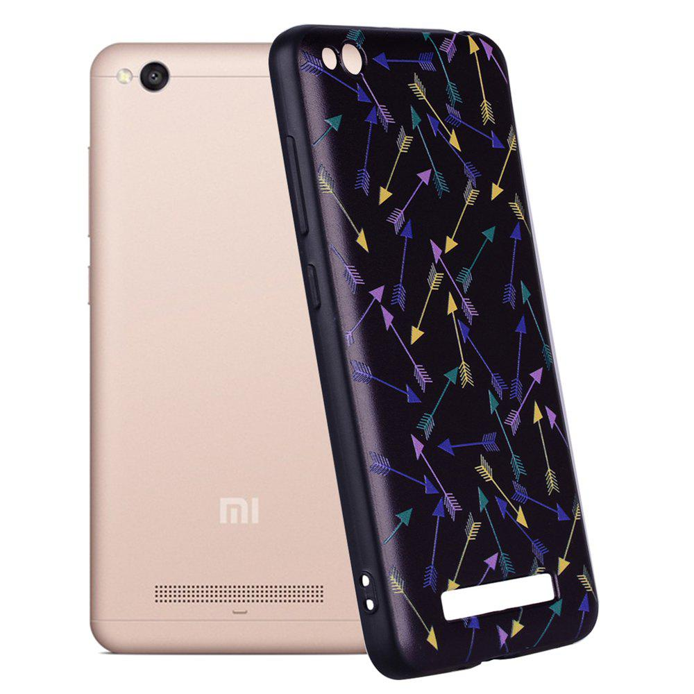 Case For Xiaomi Redmi 4A Colorful Arrow Design TPU Hand Case - COLOR STRIPE