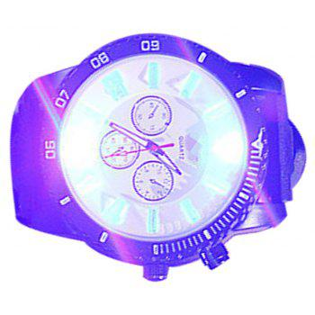Supply Fashion Trend Led Students Tide Male Silicone Jelly Watch - WHITE MALE
