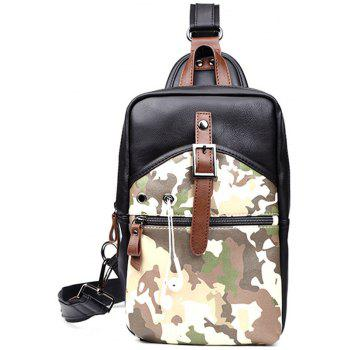 Camouflage Men s Sling Bag Fashion Chest