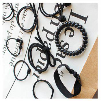 Sweet and Simple and Pure and Fresh Hair Headwear - BLACK