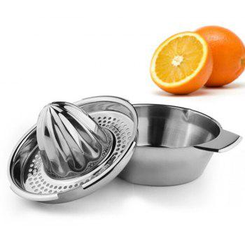 DIHE Stainless Steel Fruits Manual Squeezer Multifunctional - SILVER