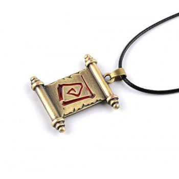Men's  Alloy Fashion All Match Necklace - BRONZED