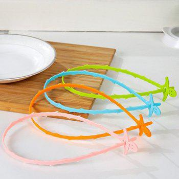 Smiling Face Kitchen Pipe Dredger Toilet Dredger Household Water Tank Drainage and Anti Blocking Clean Hook - GREEN 51CM