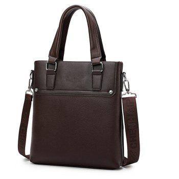 Business Casual Hommes Sac Messenger - BRUN