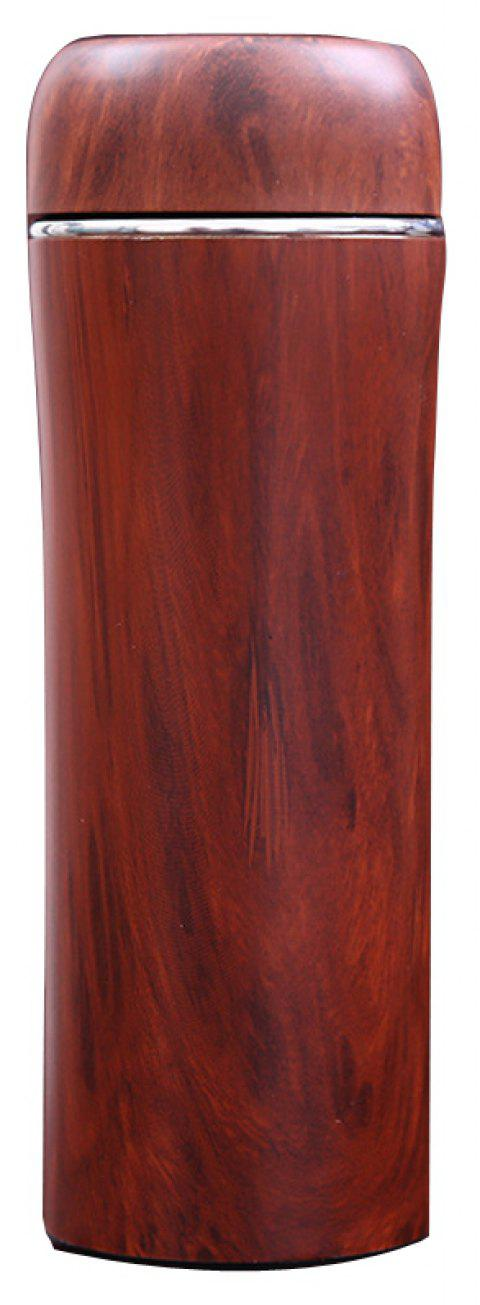 Original Wood Color Stainless Steel Shell Boccaro Tank Vacuum Cup - ROSE WOODEN