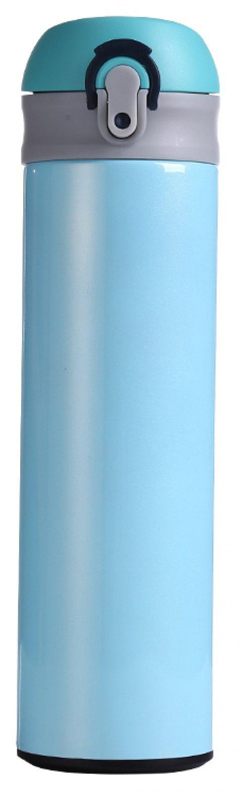 Starry Sky Pattern Double Stainless Steel Vacuum Cup 500ML - LIGHT BLUE