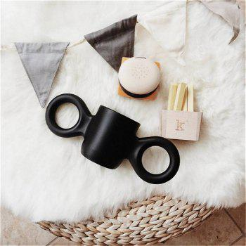 Baby Anti-Drop Bottle Water Candy Color Children Milk Cup for Decoration - BLACK
