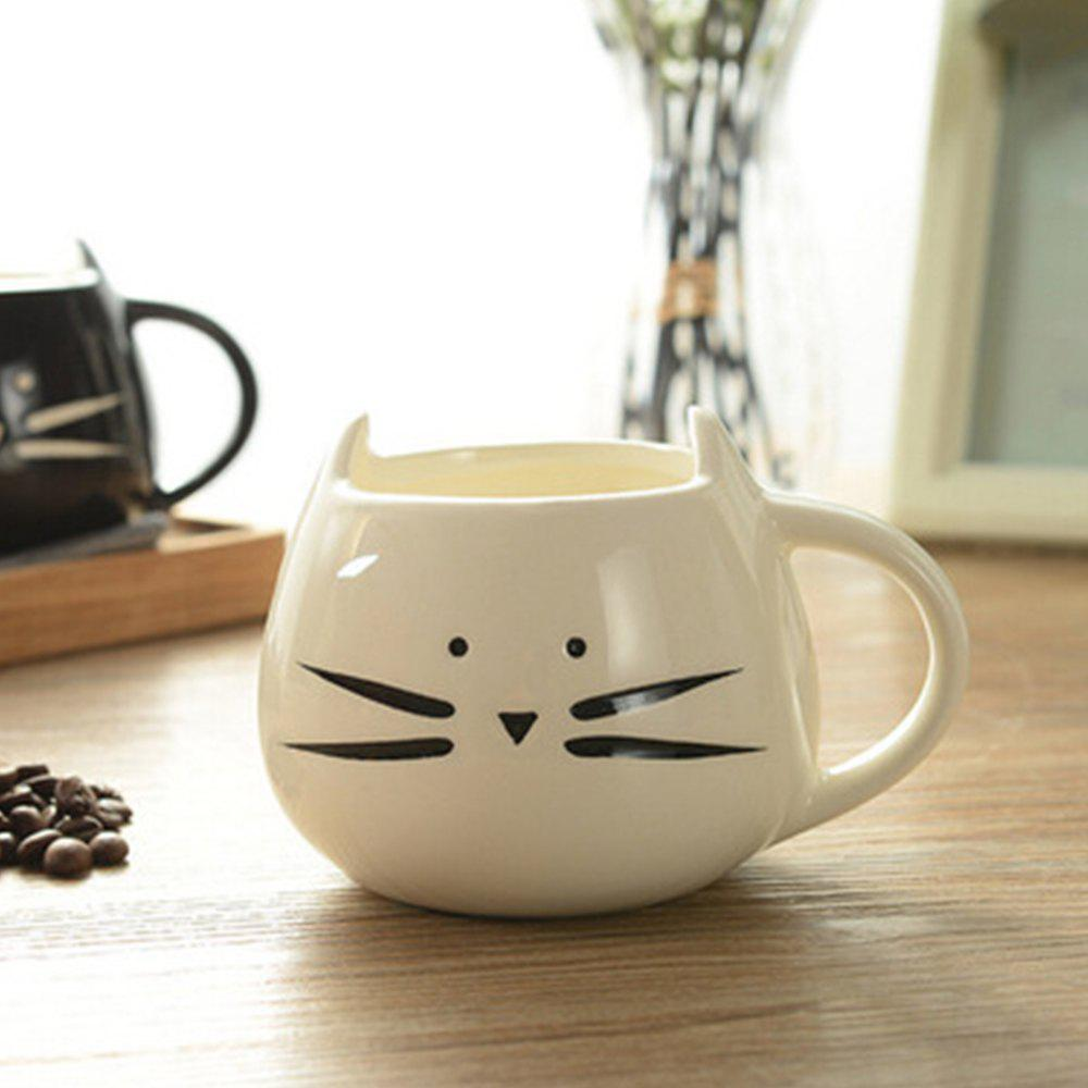 Cute Cat Animal Milk Mug Ceramic Creative Coffee Porcelain Tea Cup Nice Gifts equus coffee cup with saucer lladro porcelain