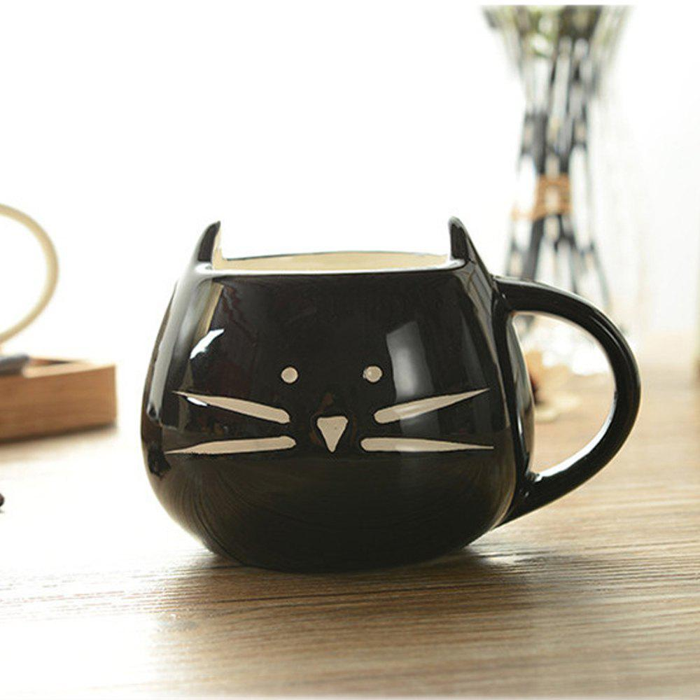 Cute Cat Animal Milk Mug Ceramic Creative Coffee Porcelain Tea Cup Nice Gifts porcelain ceramic stairs lights ceramic pattern chinese pendant lights rotating staircase lamp restaurant pendant lamps za