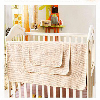 Natural Organic Colored Cotton Waterproof Breathable Urine Pad - BEIGE W28 INCH* L51 INCH