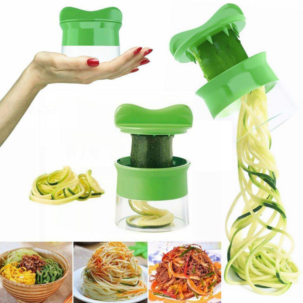 1 pc Spiral Grater Carrot Cucumber Slicer Vegetable Fruit Cutter Tool skewers food slicer kebab maker box kit bbq grill accessories tool