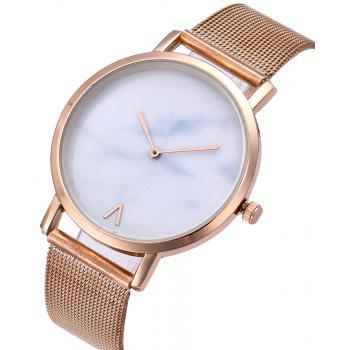 V5 Fashion Unisex Quartz Watch - ROSE GOLD