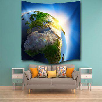 The light of Creation 3D Digital Printing Home Wall Hanging Nature Art Fabric Tapestry for Bedroom Living Decorations - COLORMIX W203CMXL153CM