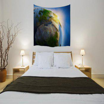 The light of Creation 3D Digital Printing Home Wall Hanging Nature Art Fabric Tapestry for Bedroom Living Decorations - COLORMIX W200CMXL180CM
