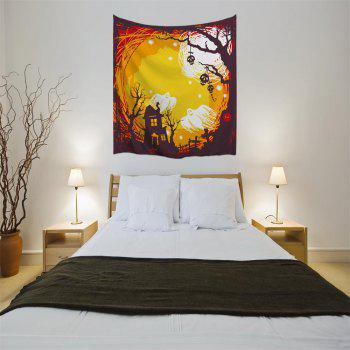 The Skeleton Ghost 3D Digital Printing Home Wall Hanging Nature Art Fabric Tapestry for Bedroom Living Room Decorations - COLORMIX W203CMXL153CM