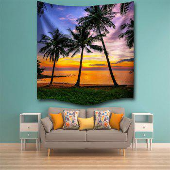 Sunset 3D Digital Printing Home Wall Hanging Nature Art Fabric Tapestry for Bedroom Living Room Decorations - COLORMIX W153CMXL102CM