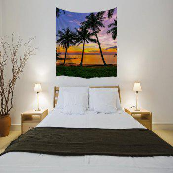 Sunset 3D Digital Printing Home Wall Hanging Nature Art Fabric Tapestry for Bedroom Living Room Decorations - COLORMIX W230CMXL180CM