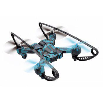 Attop A16 RC Drone RTF with Headless Mode / 360 Degree Flip / 6-axis Gyroscope - BLUE CAMOUFLAGE