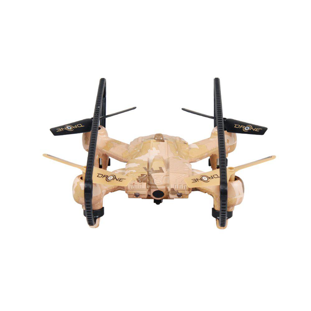 Attop A16 RC Drone RTF with Headless Mode / 360 Degree Flip / 6-axis Gyroscope - YELLOW