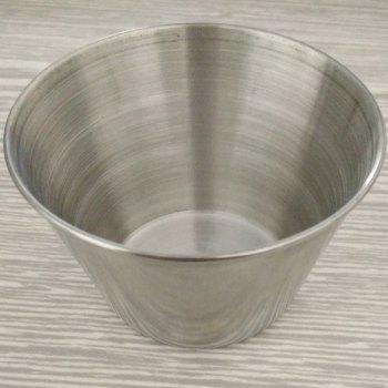 Winebowl Stainless Steel Spice Cup - SILVER