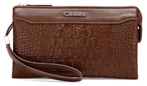 Business Casual Wallet Fashion Long Section of Multi-card Men's Clutch - KHAKI
