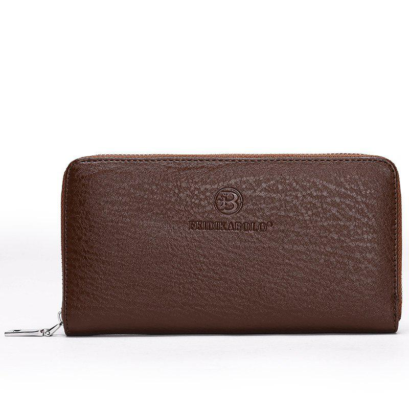 Wallet Handbag Multi-card Men's Clutch - BROWN
