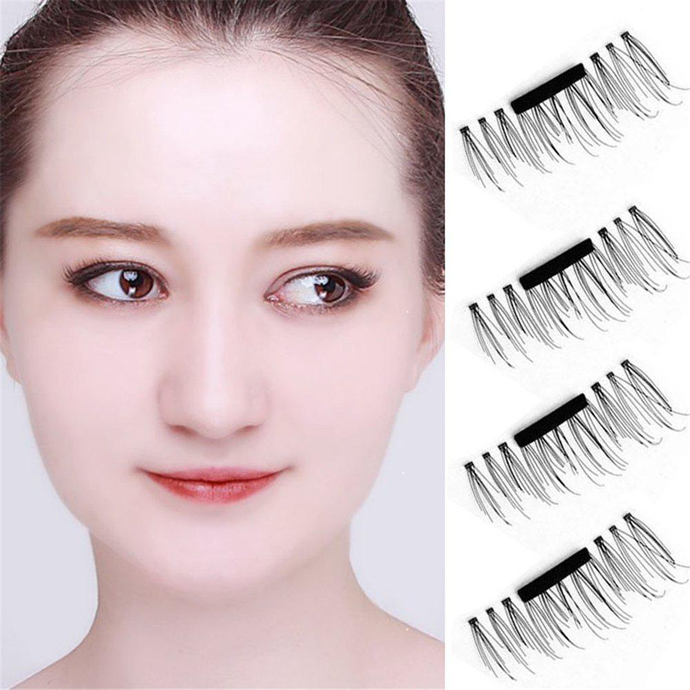 2018 Magnetic Eyelashes Extension Eye Beauty Makeup Accessories Soft Hair BLACK In Make Up Tools ...