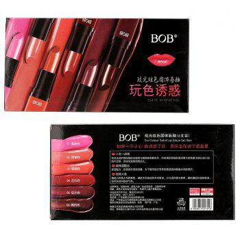 BOB Glossy Color Gem Lipstick Set - MIX COLOR